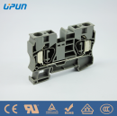 alternative PHOENIX replacement spring cage alternative Weidmuller ZDU 35 spring cage clamp din rail mounted terminal block 35mm2 CE UL IECEX UJ5-35