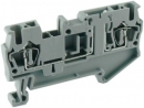 alternative PHOENIX breaker spring cage terminal blocks 2.5mm CE UL ROHS IECEX UJ5-2.5FD